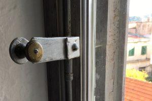 second floor window detail